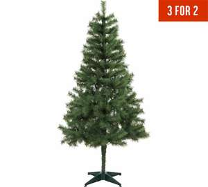 Argos have 3 for 2 on Christmas trees