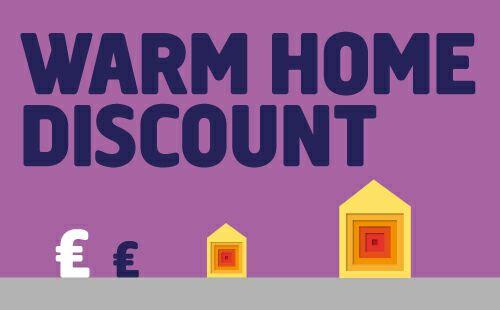 Warm Home Discount Scheme 2017/2018