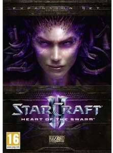 Starcraft 2 Heart of the Swarm PC - perfect if you don't own Starcraft 2 yet, +5% off possible £3.99 @ CDKeys
