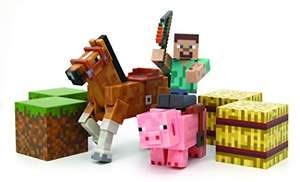 Minecraft Overworld Saddle Pack Rare - £7.26 (Exclusively for Prime members) - Amazon