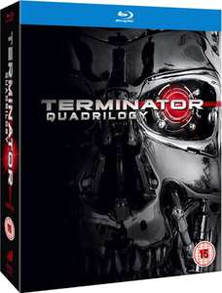 Terminator 1-4 Box Set Blu-ray - £12.99 @ Zavvi