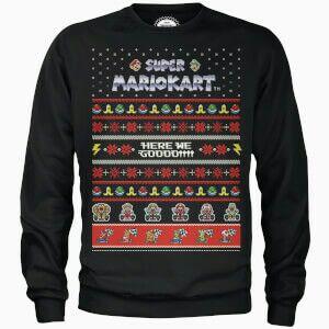 Free Nintendo tee-shirt worth £17.99 when you buy Nintendo Xmas sweatshirt for £24.99 @ IWOOT