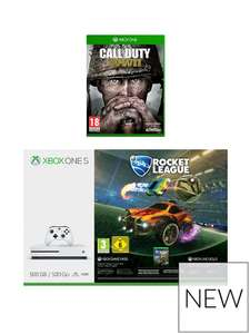 Xbox One 500GB Console With Rocket League And Call Of Duty WWII @ Very £199.99