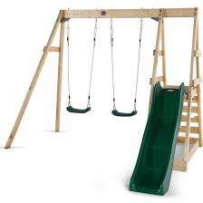Plum Tamarin Double Swing and Slide @ Plumplay.co.uk for £200
