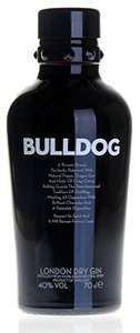 Bulldog gin 70cl down to £16.99 (Prime) / £21.74 (non Prime) on amazon, think it's prime. Nice gin decent price.