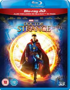 Marvel / Disney DVD's from £4.49, Blu-Ray's from £6.29, 3D Blu-Ray's from £8.99 [Doctor Strange 3D £10.79, Guardians of the Galaxy 2 Blu-Ray £11.69] @ Zoom