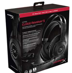 HYPERX Cloud Revolver S Gaming Headset - Gun Metal. Was £139.99 now £89.99 Currys