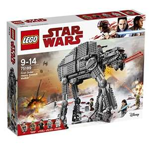 LEGO Star Wars The Last Jedi 75189 First Order Heavy Assault Walker Toy WAS £103.99 NOW £93.99 Amazon