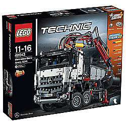 LEGO Technic Mercedes-Benz Arocs 42043 £107.99 @ Tesco Direct (Also 20% off other Lego Technic e.g. Lego Technic Volvo £47.99)