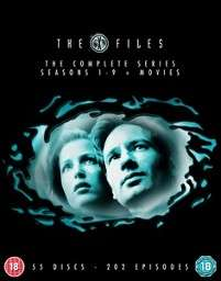 The X-Files - Seasons 1-9 plus movies DVD Boxset £29.69 including free delivery using code FANTASY10 @ Zavvi