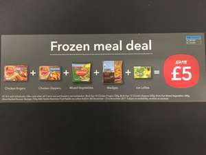 Coop frozen meal deal - £5 - Starts on 8.11.2017