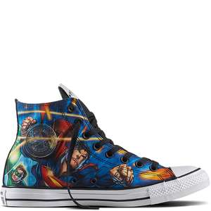 Chuck Taylor All Star Justice League Shoes from £25.49 delivered with code @ Converse