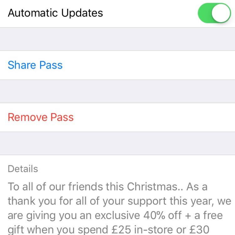 40% off plus a free gift @ BodyShop