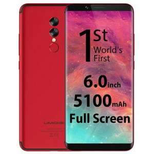UMIDIGI S2 4G Phablet  -  RED 225434702Full Screen 4GB RAM 64GB ROM 13.0MP + 5.0MP Dual Rear Cameras - £137.54 @ GearBest