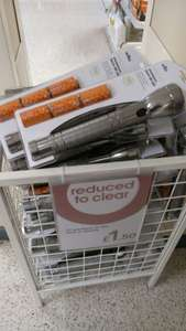 Wilkinson 3 d cell led torch £1.50 instore - portsmouth