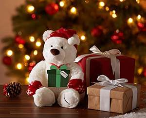 Free winter teddy with £150 Amazon Gift card
