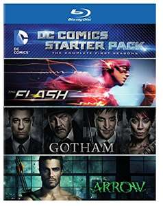 [DC Comics Starter Pack - First Seasons] The Flash, Gotham & Arrow Blu-Ray £22.50 @ Coolshop