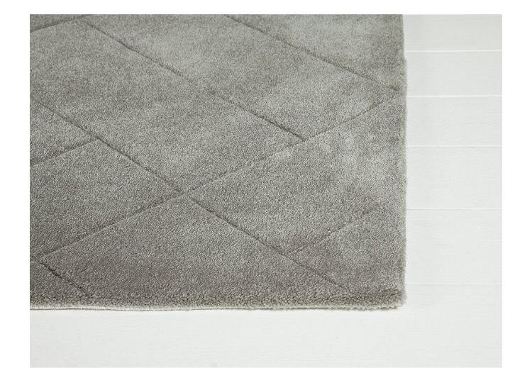 Collection Grey Parker Rug - 120x170cm £44.99 @ Argos
