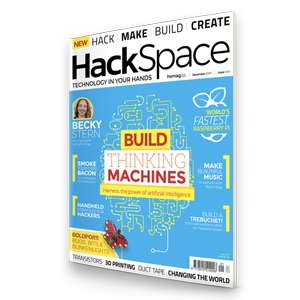 Free first issue of HackSpace from Raspberry Pi Press