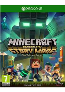 Minecraft Story Mode Season 2 Season Pass XBOX ONE/PS4 £18.85 at Simply Games