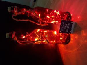 Poundland lights in a bottle £1