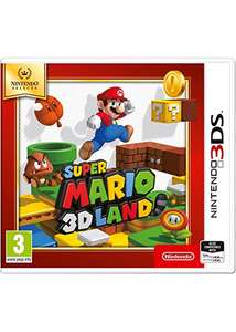Super Mario 3D Land for the 3ds/2ds £13.84 @base