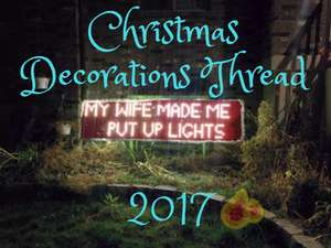 Edit - 29/11 - Updated - The Christmas Decorations Thread 2017 - Offers + Ideas / Tips + Share your Pics