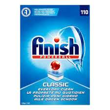 110 FINISH POWERBALL  CLASSIC DISHWASHER TABLETS - £8.99 instore @ Farmfoods