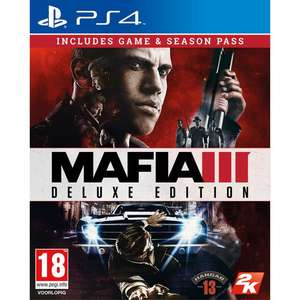 Mafia III Deluxe  Edition [PS4] £16.95 @ Coolshop