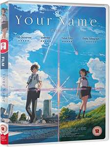"""Your Name"" DVD (Prime Member Exclusive) - £8 @ Amazon - Temporarily out of stock"