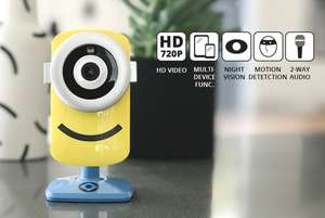 Minions Smart Baby Monitor & IP Security Camera £29 / £33.99 delivered @ Wowcher