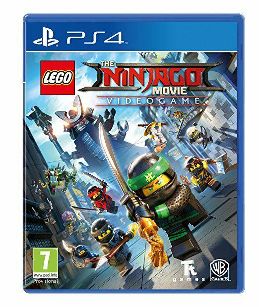 Lego Ninjago Movie PS4 game £31.09 delivered @Amazon
