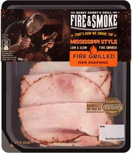 Fire & Smoke Fire Grilled Ham Shavings (100g) was £2.50 now £1.50 (RollBack Deal) @ Asda