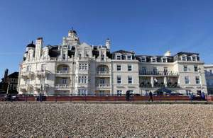 Eastbourne:  TWO Nights for Two People with Breakfast, and Early Check-In and Late Check-Out at The Shore View Hotel just £26.55pp w/code @ Groupon