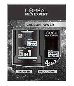 L'Oreal Men Expert Carbon Power 2-Piece Gift Set £3 at Amazon (Add-on-item)