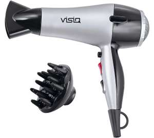 Visiq HD-055.20B Diffuser Hair Dryer £7.59 @ Argos