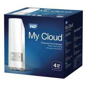 Western Digital 4TB My Cloud Personal Cloud Storage NAS Drive - £129.99 @ Maplin