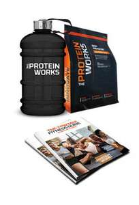 Juggernaut 2.2L Water Bottle plus 210g of Whey Protein and a Free Fitness Guide £7.99 @ The Protein Works