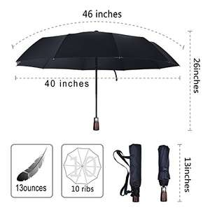Umbrella - £11.99 @ Amazon (plus £4.74 P&P non-Prime) - discount after code - Sold by BlueShadow Direct / Fulfilled by Amazon