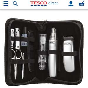 Wahl 9962-1617 Grooming Gear Travel Pack 12-Piece kit @ Tescodirect was £17 Now £11