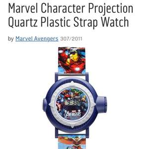 Marvel avengers kids watch £7.50 @ Argos
