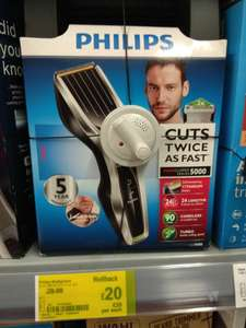 Philips 5450 clippers £20 instore at Asda George