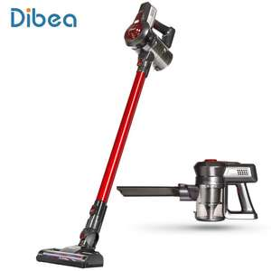 Dibea C17 2-in-1 Wireless Vacuum Cleaner RED, 5lbs Weight, 2200mAh Li-ion Battery, Cyclonic Filtration, £76.41 @ Gearbest