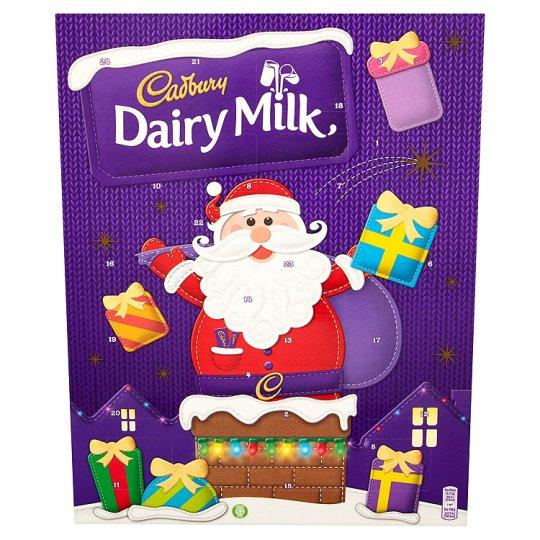 Cadbury Dairy Milk / Malteser / Galaxy / Mars Advent Calendars £1 from 8th Nov at Tesco