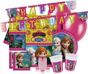 Disney Frozen Party Pack for 16 Guests / Turtles Party Pack 16 Guests just £4.99 each with FREE delivery @ eBay / Argos