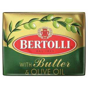 Bertolli With Butter And Olive Oil 250G 2 for £1.50 @ Tesco (from tomorrow 08/11)
