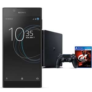 Sony Xperia L1 £27.99pm with 5GB 4G Data, Unltd Mins & Texts + 6 Months Apple Music + 3 months BT Sport AND PlayStation 4 500GB with GT Sport  @ EE
