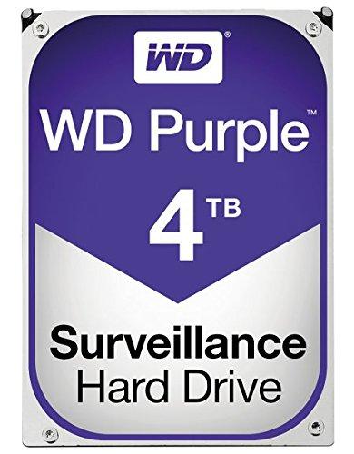 Western Digital Purple 4 TB Serial ATA III Internal Hard Drive - £106.13 @ Amazon