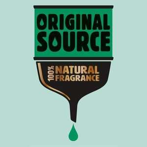Original Source BIGGER 500ml - £1.90 @ Morrisons online / in-store (+ 2 for £2 on 250ml bottles)