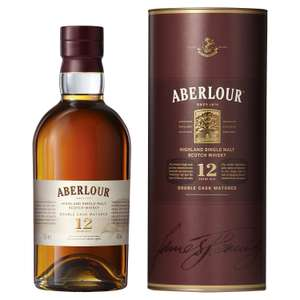 Aberlour 12 Year Old Single Malt Scotch Whisky, 70 cl - £24.60 on Amazon